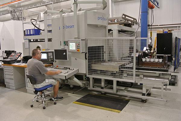 Pro-beam EB Welder and operator