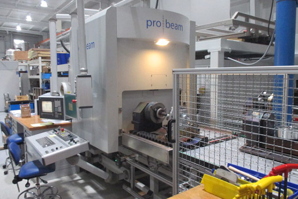 Pro-beam EB Welder side