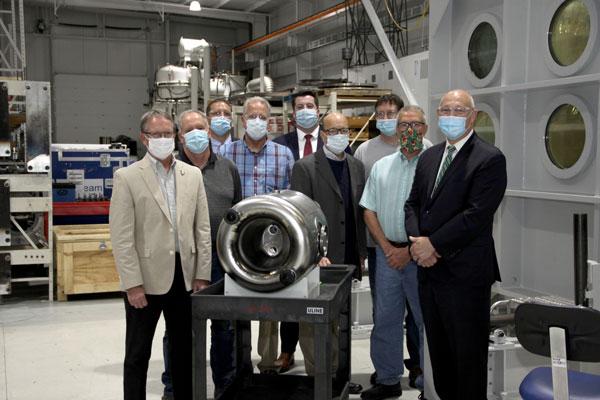 Michigan State University FRIB Industrial Partner visit